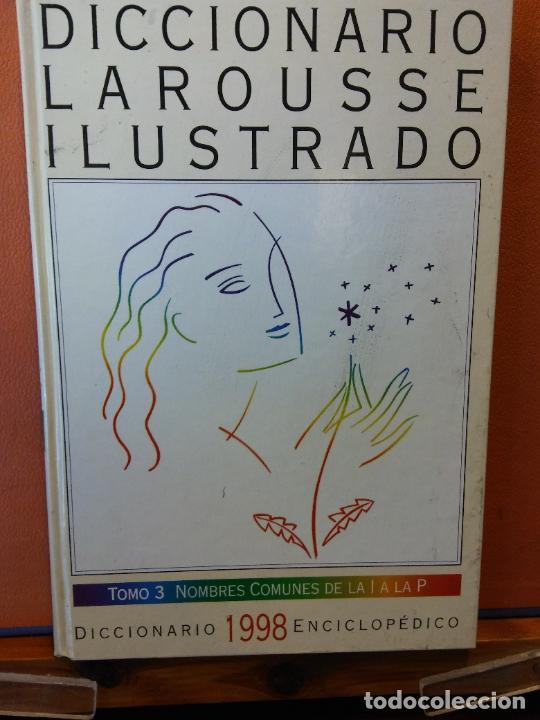 DICCIONARIOS LAROUSSE ILUSTRADO. 1998. EL PERIÓDICO. 5 TOMOS. (Libros de Segunda Mano - Diccionarios)