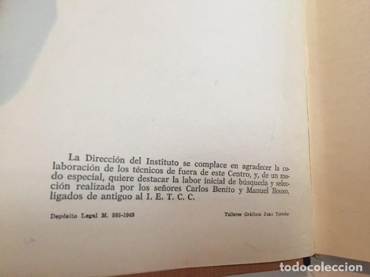 Diccionarios de segunda mano: LÉXICO DE LA CONSTRUCCIÓN. INSTITUTO EDUARDO TORROJA DE LA CONSTRUCCIÓN Y DEL CEMENTO. - Foto 6 - 218094428