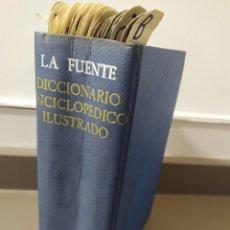Diccionarios de segunda mano: LA FUENTE. DICCIONARIO ENCICLOPEDICO ILUSTRADO. JOSE ALEMANY EDITORIAL RAMON SOPENA 1958. Lote 218548606