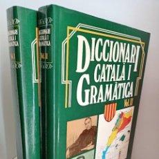 Diccionarios de segunda mano: DICCIONARI CATALA I GRAMATICA, DOS TOMOS, DICCIONARIO / DICTIONARY, EDICIONES NAUTA,1984. Lote 218896876