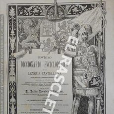 Diccionarios de segunda mano: ANTIGUO CUADERNO Nº 26 DICCIONARIO ENCICLOPEDICO DE LA LENGUA CASTELLANA D. DELFIN DONADIU Y PUIGNAU. Lote 218904693