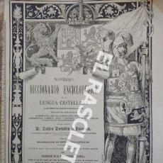Diccionarios de segunda mano: ANTIGUO CUADERNO Nº 28 DICCIONARIO ENCICLOPEDICO DE LA LENGUA CASTELLANA D. DELFIN DONADIU Y PUIGNAU. Lote 218904878