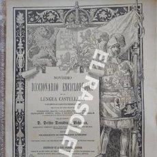 Diccionarios de segunda mano: ANTIGUO CUADERNO Nº 33 DICCIONARIO ENCICLOPEDICO DE LA LENGUA CASTELLANA D. DELFIN DONADIU Y PUIGNAU. Lote 218905563