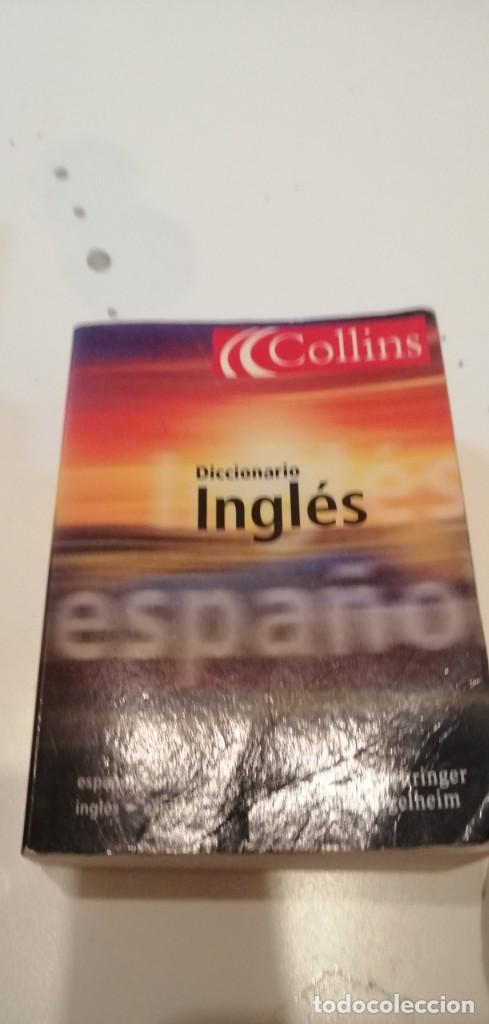 G-42 LIBRO DICCIONARIO INGLES COLLINS CHICO (Libros de Segunda Mano - Diccionarios)