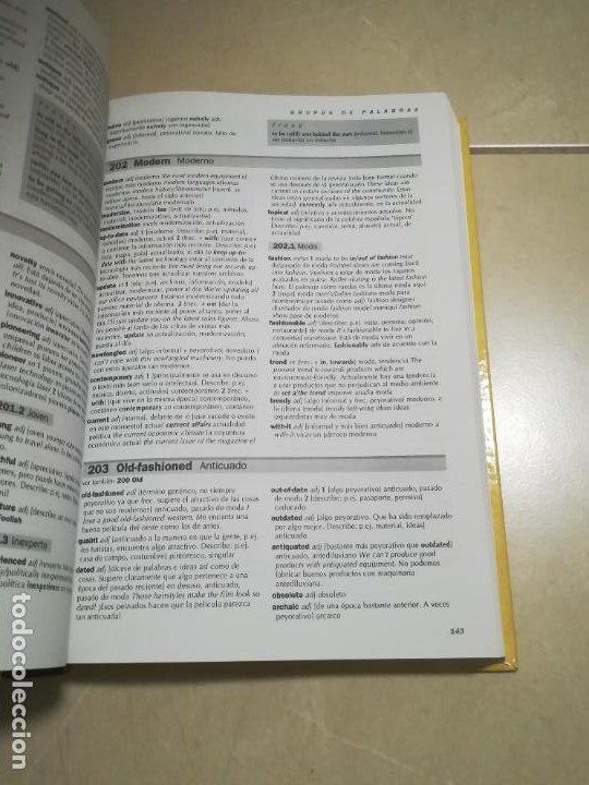 Diccionarios de segunda mano: DICCIONARIO TEMATICO DEL INGLES CONTEMPORANEO. CAMBRIDGE WORD SELECTOR. 1º ED. 1995 - Foto 5 - 220563955