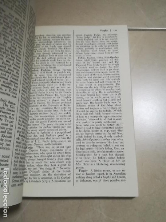 Diccionarios de segunda mano: THE DICTIONARY OF EPONYMS. NAMES THAT BECAME WORDS. 1º ED. 1985. STEIN AND DAY EDITIONS - Foto 2 - 220564077