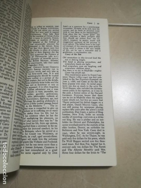 Diccionarios de segunda mano: THE DICTIONARY OF EPONYMS. NAMES THAT BECAME WORDS. 1º ED. 1985. STEIN AND DAY EDITIONS - Foto 4 - 220564077
