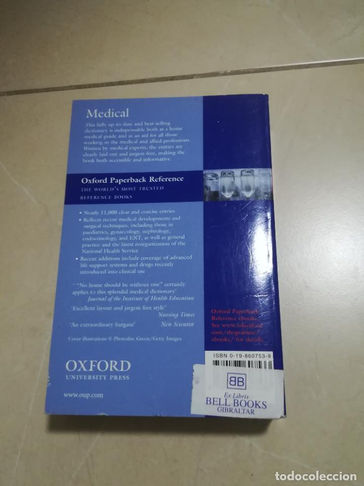 Diccionarios de segunda mano: OXFORD CONCISE MEDICAL DICTIONARY. 2003. RUSTICA. EN INGLES. - Foto 3 - 220564150
