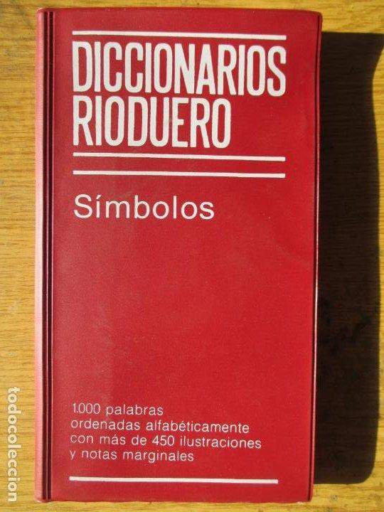 DICCIONARIOS RIODUERO. SÍMBOLOS. ILUSTRACIONES Y NOTAS MARGINALES. 1983 (Libros de Segunda Mano - Diccionarios)