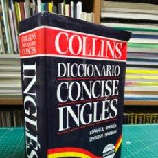 Diccionarios de segunda mano: DICCIONARIO INGLÉS-ESPAÑOL, ESPAÑOL-INGLÉS. COLLINS CONCISE. Lote 220675550
