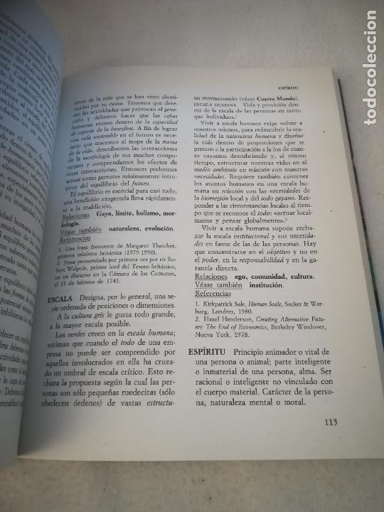 Diccionarios de segunda mano: DICCIONARIO VERDE. COLIN JOHNSON. 1º ED. 1993. RUSTICA. 314 PAG. ED.PLURAL - Foto 4 - 220724700