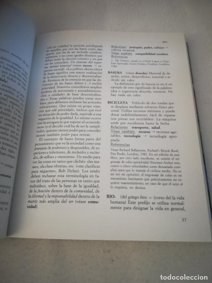 Diccionarios de segunda mano: DICCIONARIO VERDE. COLIN JOHNSON. 1º ED. 1993. RUSTICA. 314 PAG. ED.PLURAL - Foto 5 - 220724700