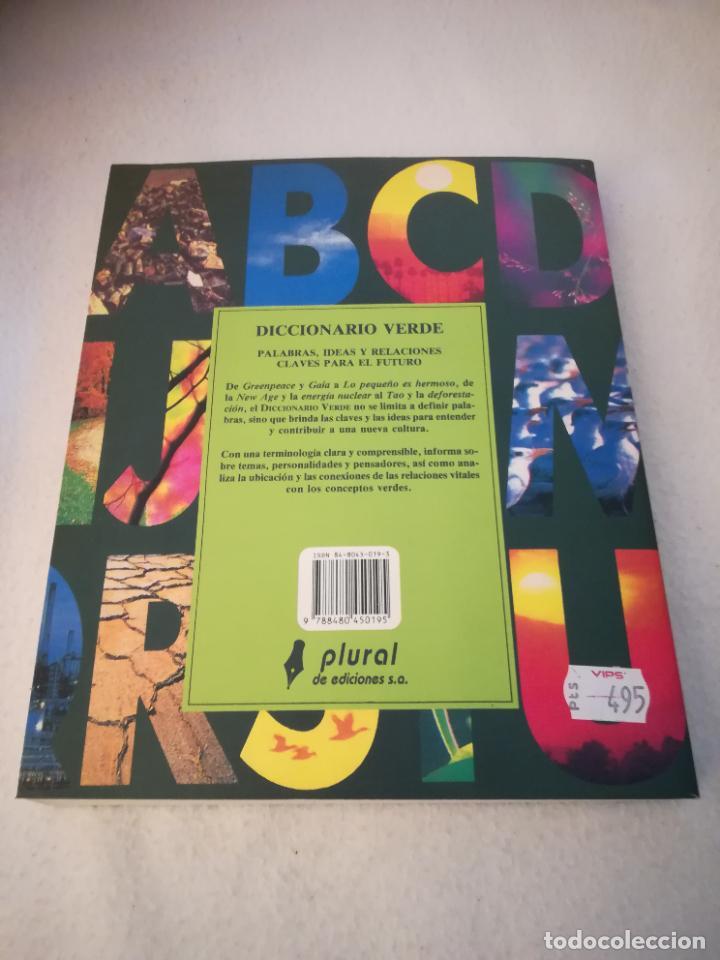 Diccionarios de segunda mano: DICCIONARIO VERDE. COLIN JOHNSON. 1º ED. 1993. RUSTICA. 314 PAG. ED.PLURAL - Foto 6 - 220724700