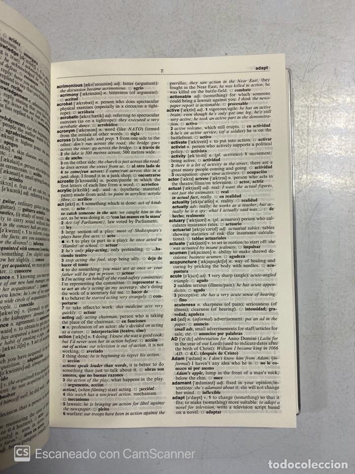Diccionarios de segunda mano: PASSWORD. ENGLISH DICTIONARY FOR SPEAKERS OF SPANISH. EDITORIAL SM. MADRID, 1991. - Foto 3 - 221258497