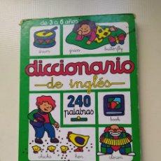 Diccionarios de segunda mano: DICCIONARIO EN INGLÉS. Lote 221325008