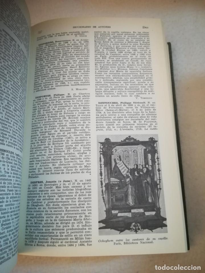 Diccionarios de segunda mano: DICCIONARIO BOMPIANI DE AUTORES LITERARIOS II. 1987. ED.PLANETA AGOSTINI. 1240 PAG. ILUSTRADO - Foto 5 - 221333332