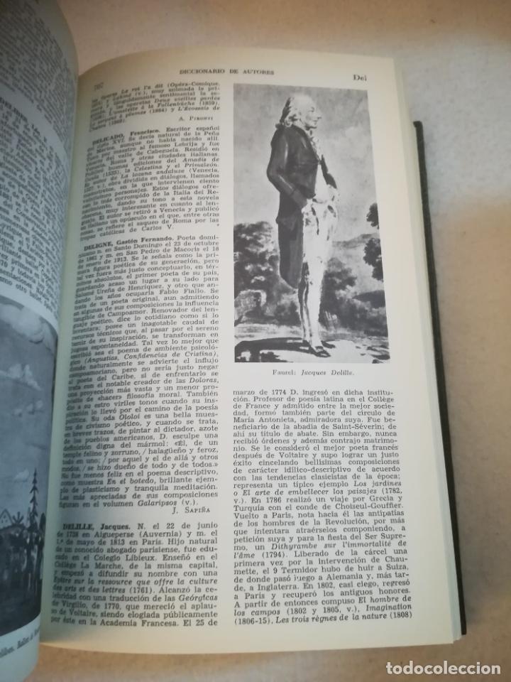 Diccionarios de segunda mano: DICCIONARIO BOMPIANI DE AUTORES LITERARIOS II. 1987. ED.PLANETA AGOSTINI. 1240 PAG. ILUSTRADO - Foto 6 - 221333332