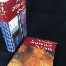 Diccionarios de segunda mano: DICTIONNAIRE INTERNATIONAL DES ARTS - 2 TOMOS - 1979. FRANCÉS. Lote 221472587