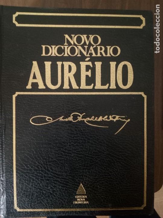 NOVO DICIONARIO AURÉLIO DA LINGUA PORTUGUESA - AURÉLIO BUARQUE DE HOLANDA FERREIRA (Libros de Segunda Mano - Diccionarios)
