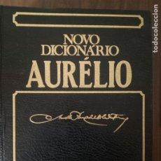 Libri di seconda mano: NOVO DICIONARIO AURÉLIO DA LINGUA PORTUGUESA - AURÉLIO BUARQUE DE HOLANDA FERREIRA. Lote 221522776