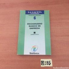 Diccionarios de segunda mano: DICCIONARIO BÁSICO DE EMPRESA. Lote 221727340