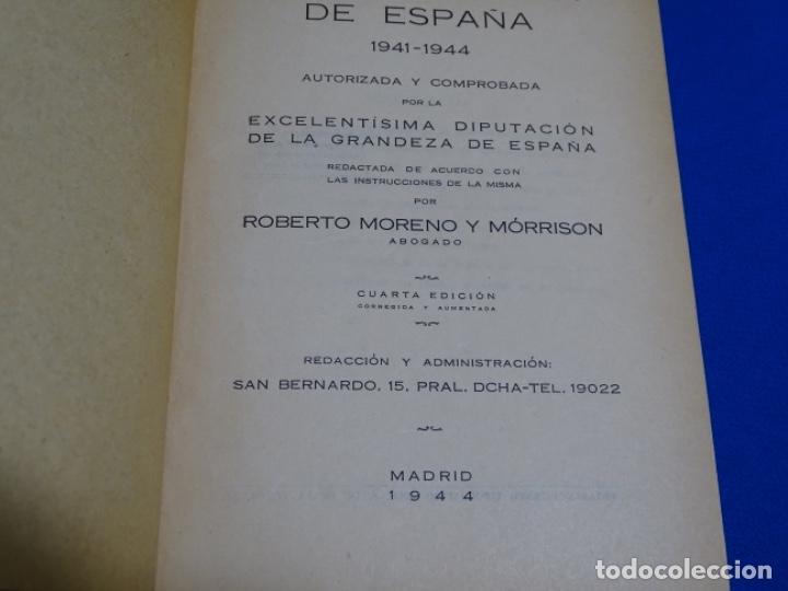 Diccionarios de segunda mano: GUÍA NOBILIARIA DE ESPAÑA 1941-44.ROBERTO MORENO MORRISON. - Foto 5 - 222082518