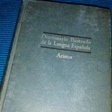 Diccionarios de segunda mano: DICCIONARIO ILUSTRADO DE LA LENGUA ESPAÑOLA 1958. Lote 222098802