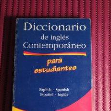 Diccionarios de segunda mano: DICCIONARIO DE INGLÉS CONTEMPORÁNEO PARA ESTUDIANTES. LONGMAN. 2000.. Lote 222474007