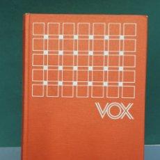 Diccionarios de segunda mano: DICCIONARIO ESCOLAR DE LA LENGUA ESPAÑOLA VOX QUINTA EDICIÓN 1978 EDITORIAL BILOGRAF. Lote 223652401
