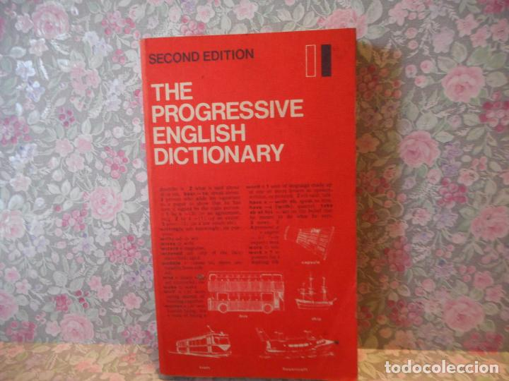 THE PROGRESSIVE ENGLISH DICTIONARY. SECOND EDITION. AS HORNBY AND EC PARNWELL. OXFORD UNIVERSITY. (Libros de Segunda Mano - Diccionarios)