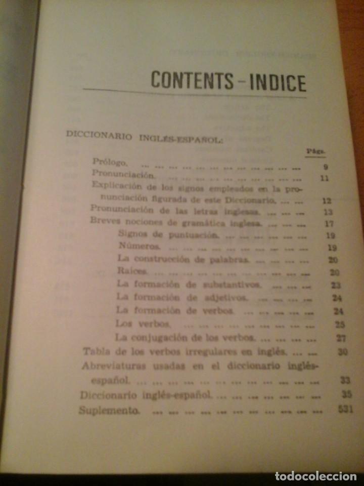 Diccionarios de segunda mano: DICCIONARIO INGLÉS-ESPAÑOL, ESPAÑOL-INGLÉS - Foto 2 - 225757357