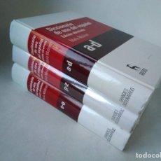 Diccionarios de segunda mano: DICCIONARIO DE USO DEL ESPAÑOL MARÍA MOLINER. 3 VOLÚMENES. Lote 225818855