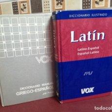 Diccionarios de segunda mano: DICCIONARIOS LATÍN Y GRIEGO. VOX - BIBLIOGRAF.. Lote 225891925