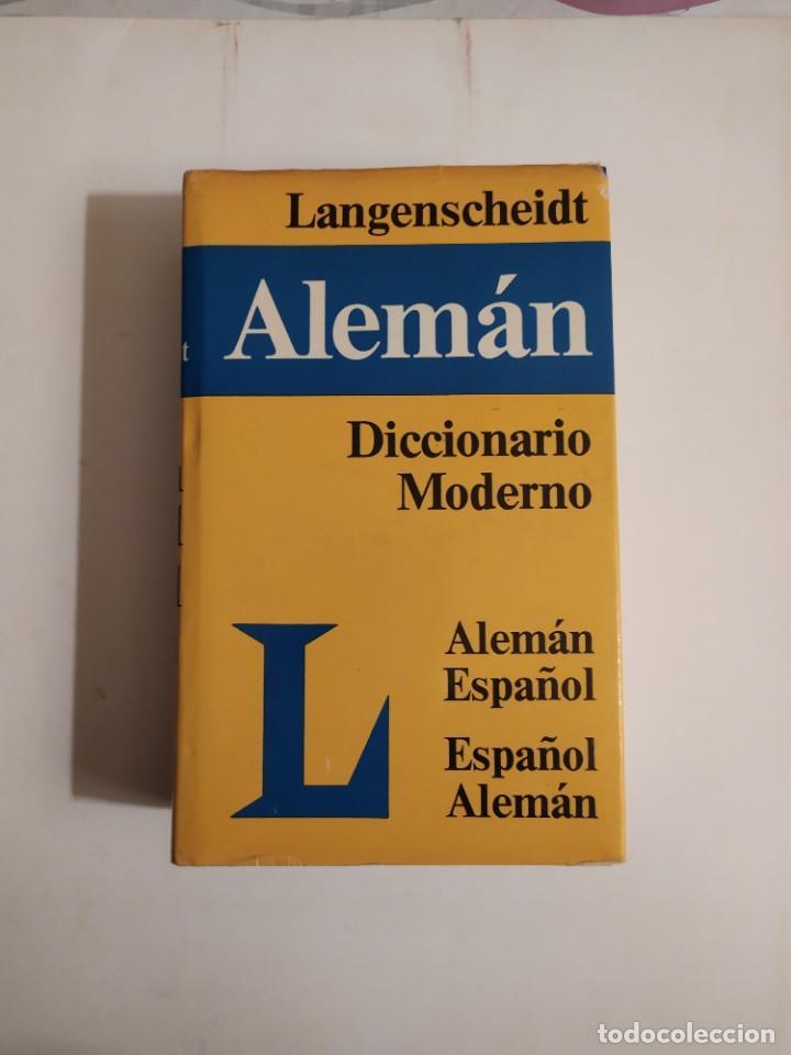 DICCIONARIO MODERNO LANGENSCHEIDT ALEMÁN - ESPAÑOL - (RECÍPROCO) - TH.SCHOEN - T.NOELI (Libros de Segunda Mano - Diccionarios)