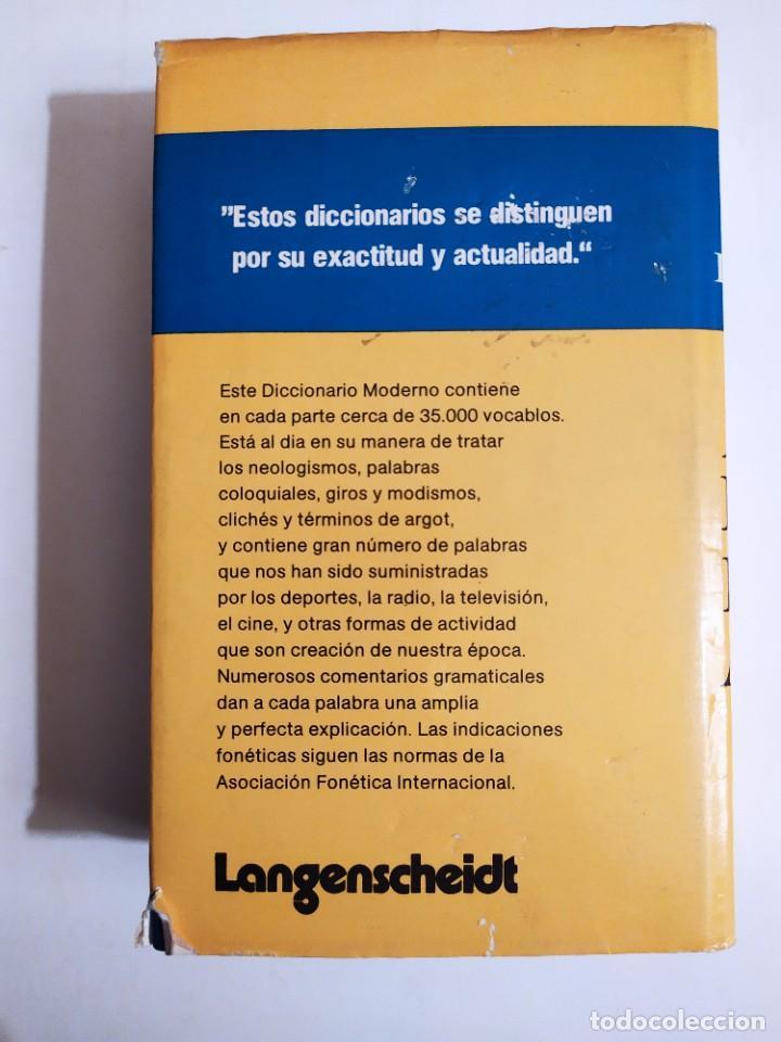 Diccionarios de segunda mano: Diccionario moderno Langenscheidt alemán - español - (recíproco) - Th.Schoen - T.Noeli - Foto 2 - 227063445