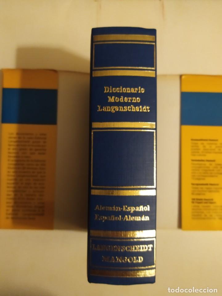 Diccionarios de segunda mano: Diccionario moderno Langenscheidt alemán - español - (recíproco) - Th.Schoen - T.Noeli - Foto 3 - 227063445