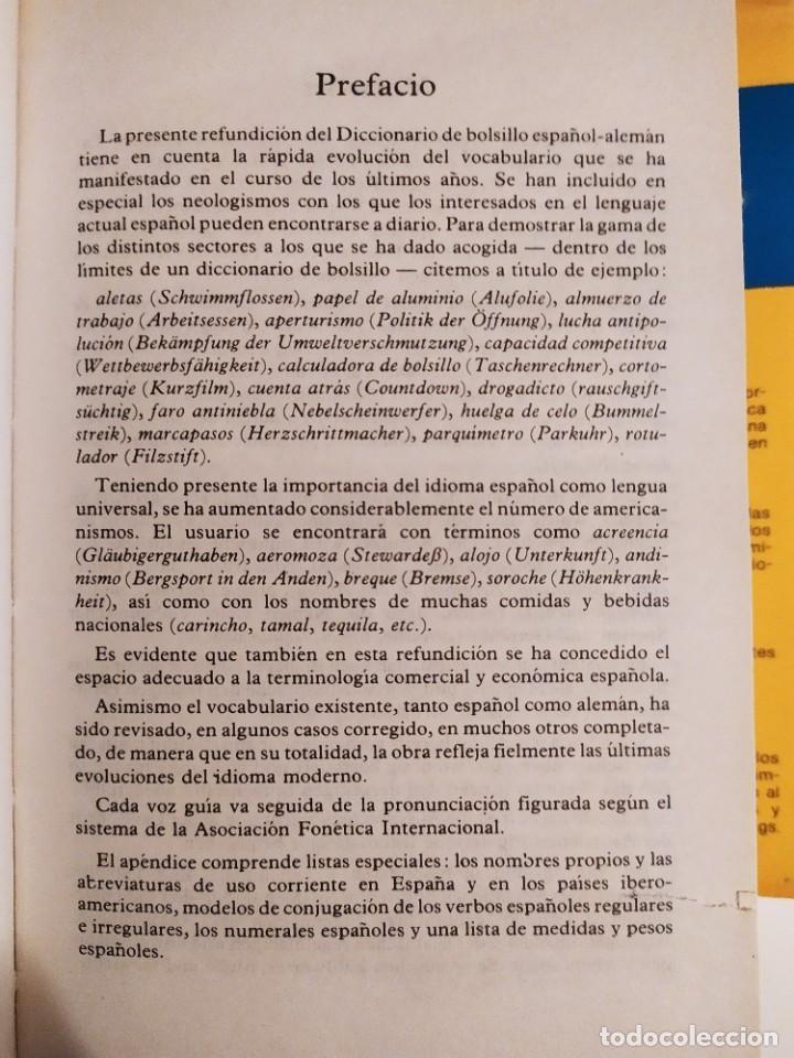 Diccionarios de segunda mano: Diccionario moderno Langenscheidt alemán - español - (recíproco) - Th.Schoen - T.Noeli - Foto 5 - 227063445