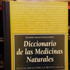 Diccionarios de segunda mano: DICCIONARIO DE LAS MEDICINAS NATURALES. Lote 228094100