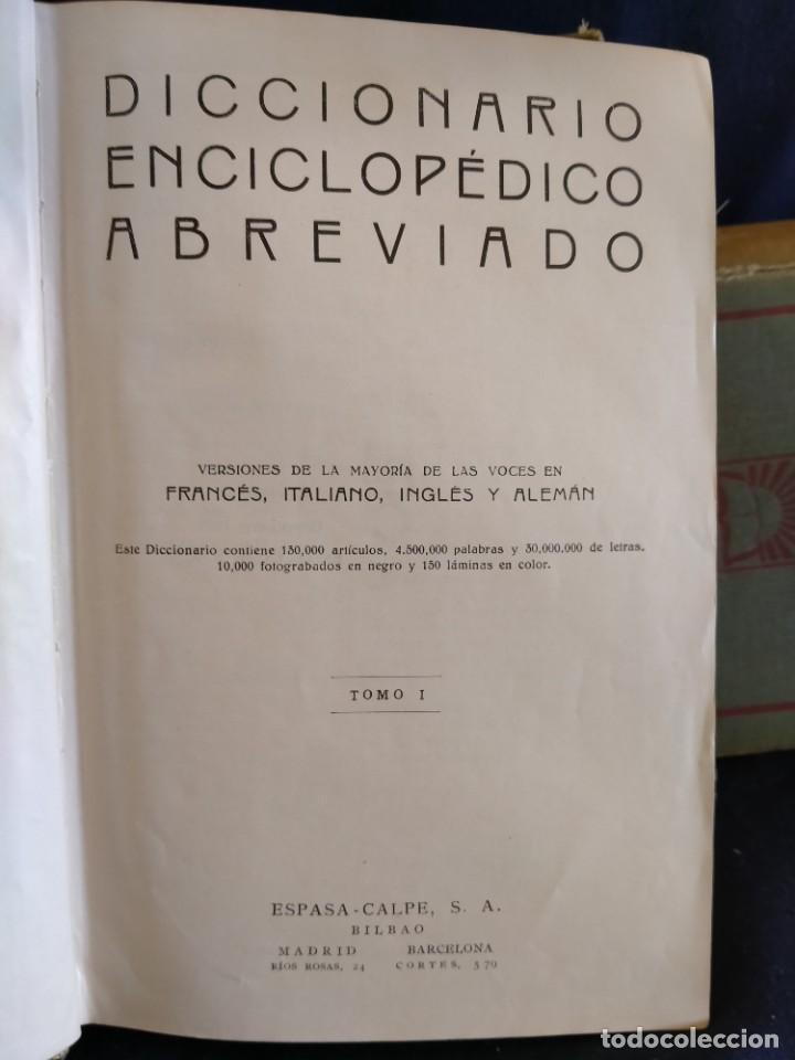 Diccionarios de segunda mano: Diccionario Enciclopédico Ilustrado 1932. Lb18 - Foto 3 - 229023561
