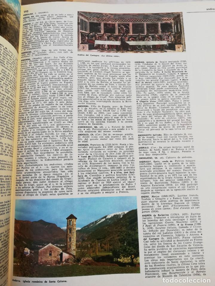 Diccionarios de segunda mano: Diccionario enciclopedico Salvat - Foto 3 - 230993400