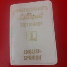 Diccionarios de segunda mano: PEQUEÑO DICCIONARIO LILLIPUT INGLES-ESPAÑOL. Lote 232146240