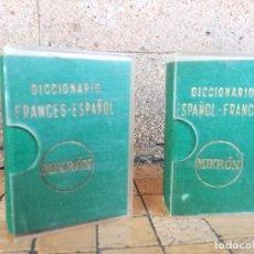 Diccionarios de segunda mano: ANTIGUO MINI DICCIONARIO MIKRÓN. ESPAÑOL - FRANCÉS Y FRANCES - ESPAÑOL - AÑO 1958 EDITORIAL MAYFE. Lote 232512037