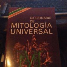 Livros em segunda mão: GIUSEPPINA SECHI MESTICA. DICCIONARIO DE MITOLOGÍA. AL 1993. Lote 232635890