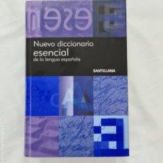 Diccionarios de segunda mano: NUEVO DICCIONARIO ESENCIAL DE LA LENGUA ESPAÑOLA. SANTILLANA. Lote 232674015