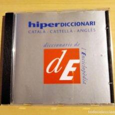 Diccionarios de segunda mano: HIPERDICCIONARI CATALÀ-CASTELLÀ-ANGLÈS (CD). Lote 232850950