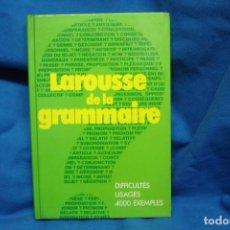 Diccionarios de segunda mano: LAROUSSE DE LA GRAMMAIRE - DIFFICULTÉS USAGES 4000 EXEMPLES- LIBRAIRIE LAROUSSE 1983. Lote 233375845