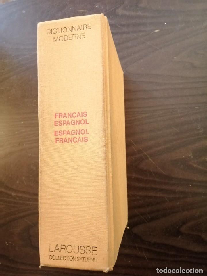DICTIONNAIRE MODERNE FRANÇAIS - ESPAGNOL. ESPAGNOL-FRANÇAIS. LAROUSSE (Libros de Segunda Mano - Diccionarios)