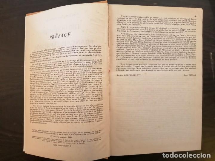 Diccionarios de segunda mano: DICTIONNAIRE MODERNE FRANÇAIS - ESPAGNOL. Espagnol-Français. LAROUSSE - Foto 5 - 233813340