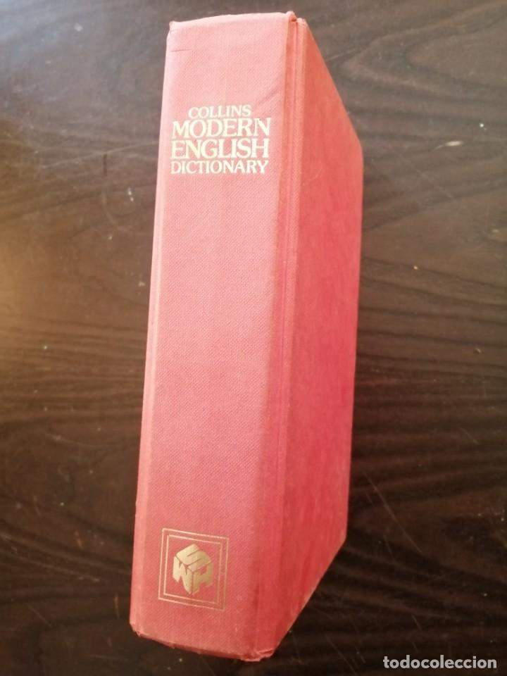 COLLINS MODERN ENGLISH DICTIONARY. (Libros de Segunda Mano - Diccionarios)