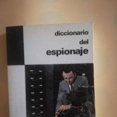 Diccionarios de segunda mano: DICCIONARIO DEL ESPIONAJE. D. PASTOR PETIT. PLAZA & JANES. 1º EDICION 1971.. Lote 234678350